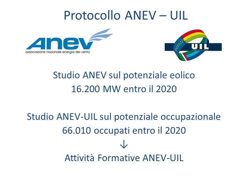 Protocollo ANEV – UIL
