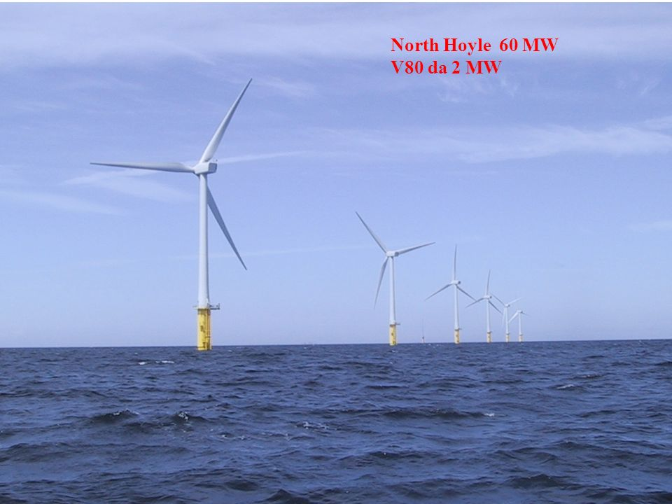 North Hoyle 60 MW V80 da 2 MW