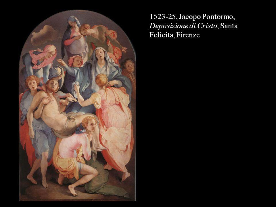 1523-25, Jacopo Pontormo, Deposizione di Cristo, Santa Felicita, Firenze