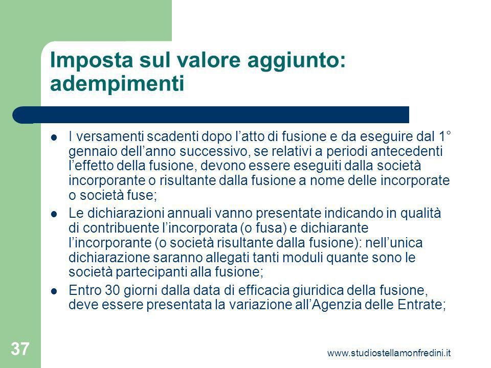Imposta sul valore aggiunto: adempimenti