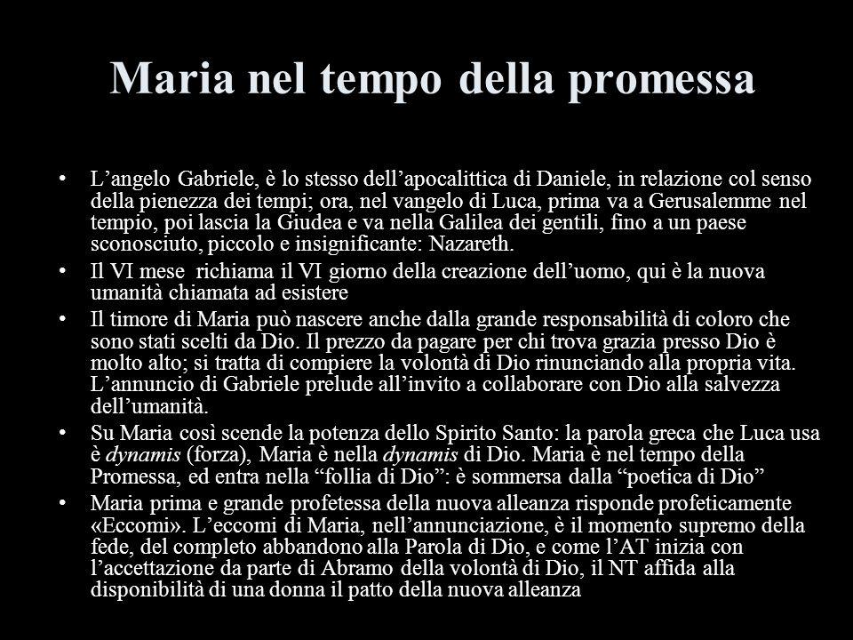 Maria nel tempo della promessa