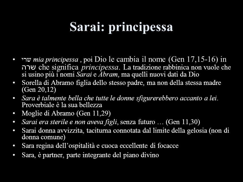 Sarai: principessa