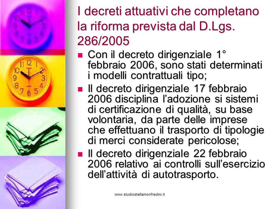 I decreti attuativi che completano la riforma prevista dal D. Lgs