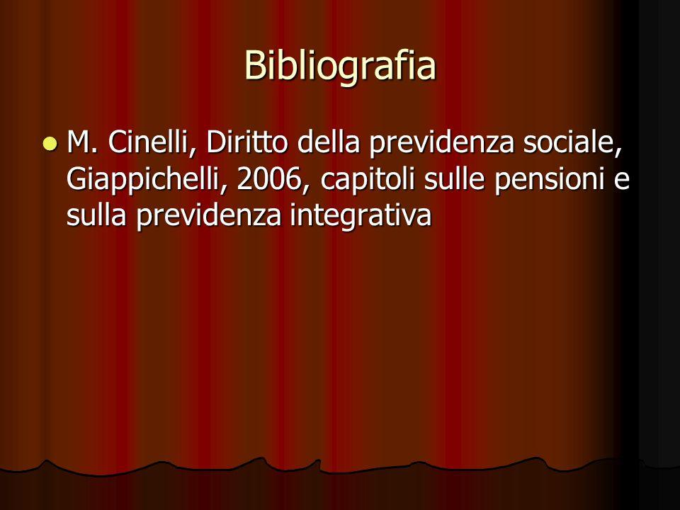 Bibliografia M.