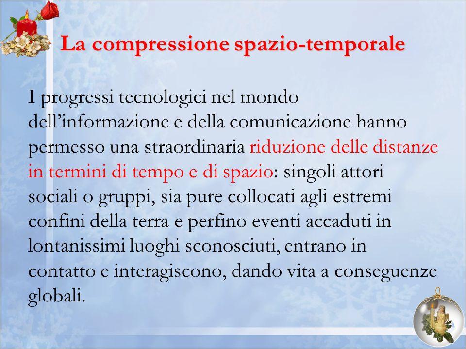 La compressione spazio-temporale
