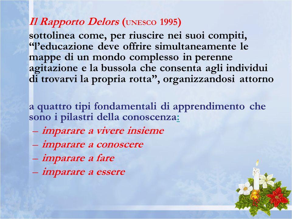 Il Rapporto Delors (UNESCO 1995)