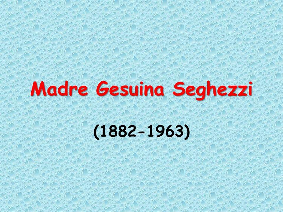 Madre Gesuina Seghezzi