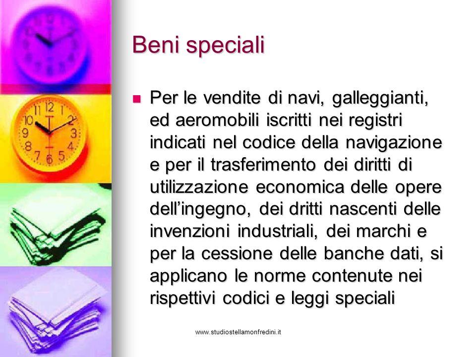 Beni speciali