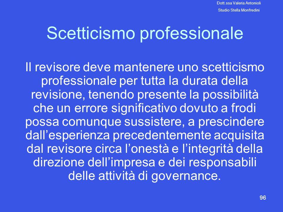 Scetticismo professionale