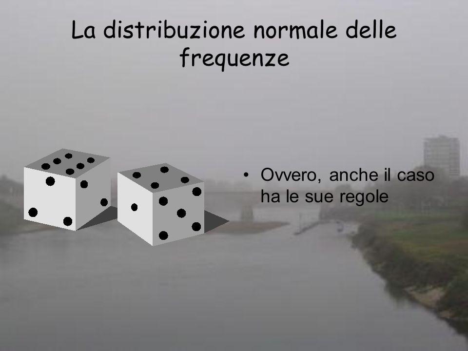 La distribuzione normale delle frequenze