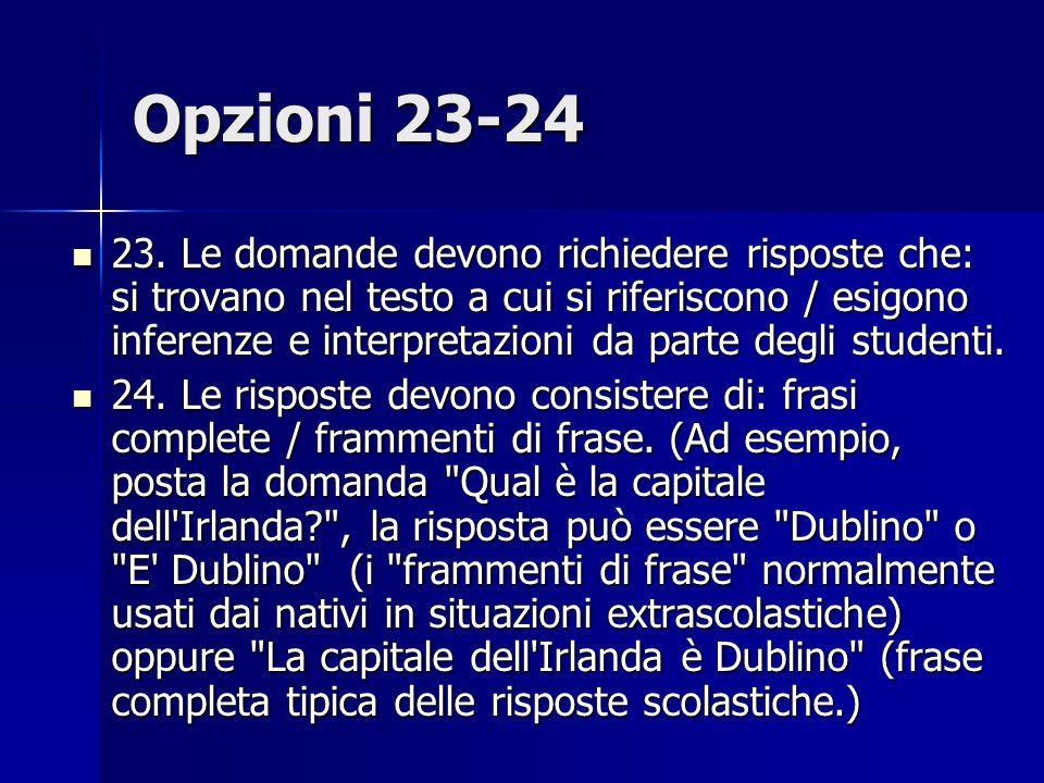 Opzioni 23-24