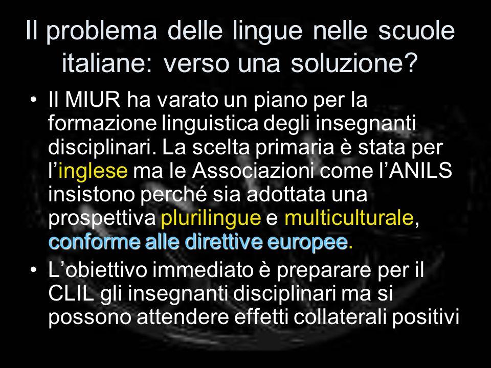 Il problema delle lingue nelle scuole italiane: verso una soluzione