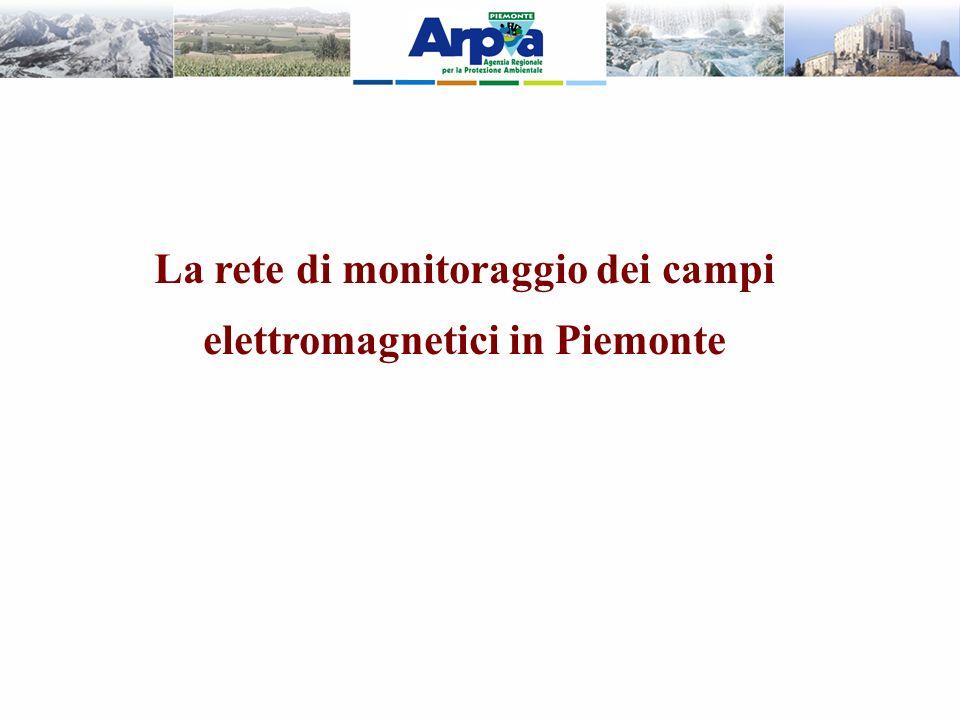 La rete di monitoraggio dei campi elettromagnetici in Piemonte