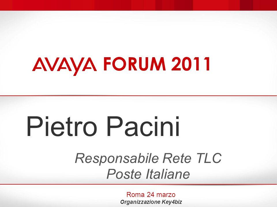 Responsabile Rete TLC Poste Italiane