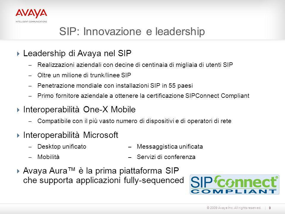 SIP: Innovazione e leadership
