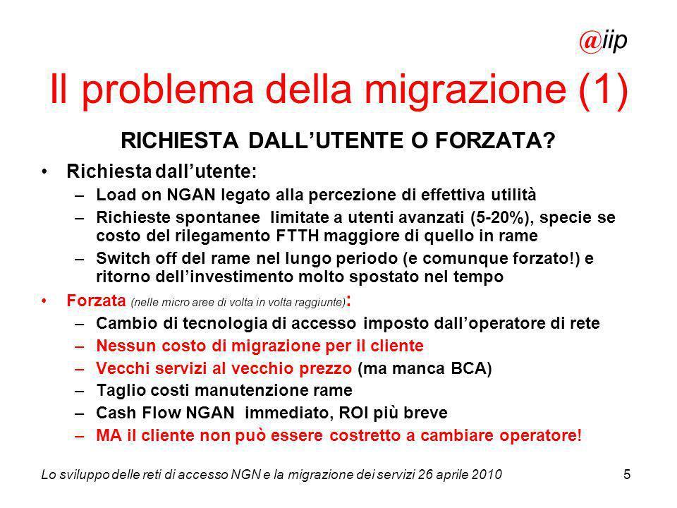 Il problema della migrazione (1)