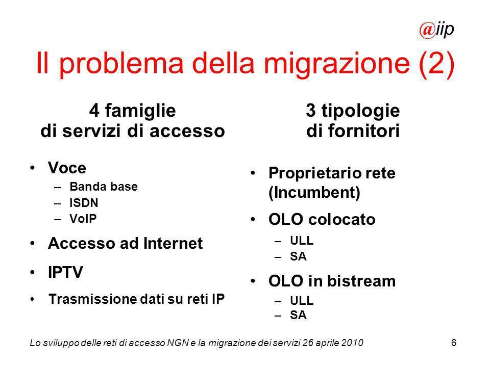 Il problema della migrazione (2)