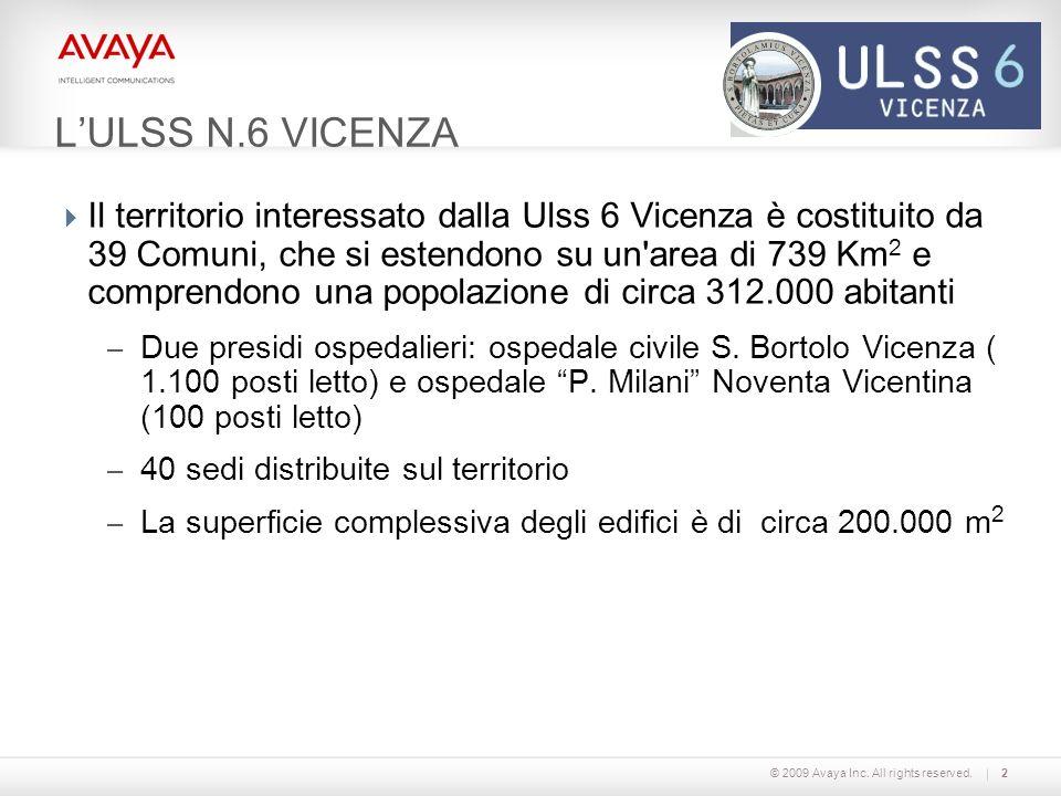 L'ULSS N.6 VICENZA