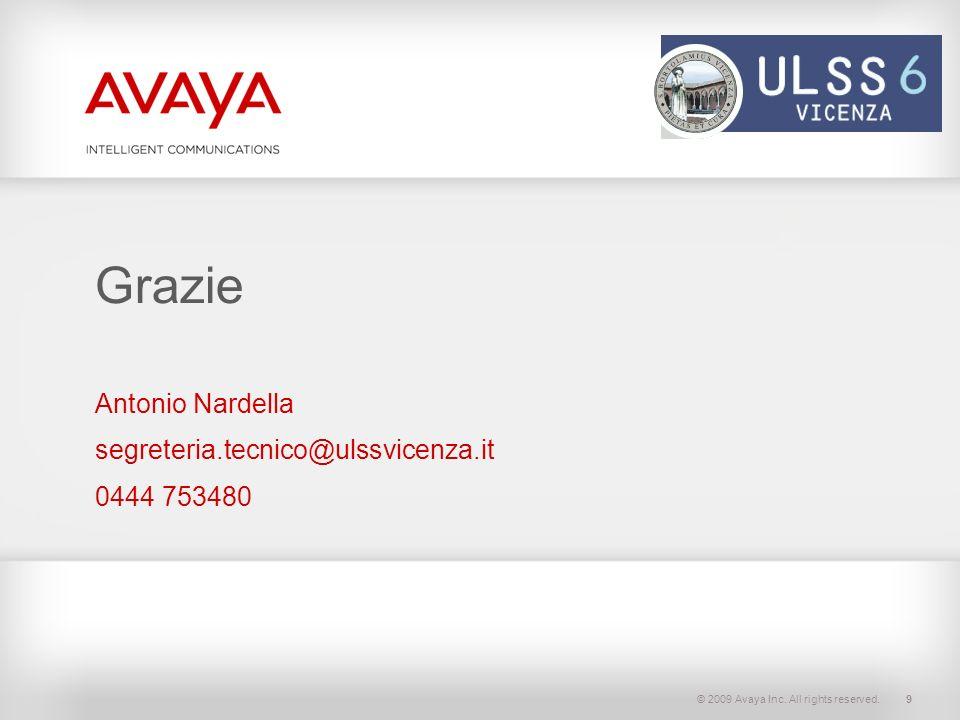 Antonio Nardella segreteria.tecnico@ulssvicenza.it 0444 753480