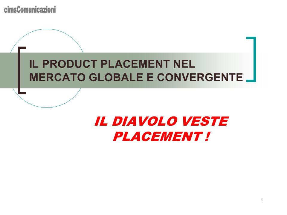 IL PRODUCT PLACEMENT NEL MERCATO GLOBALE E CONVERGENTE