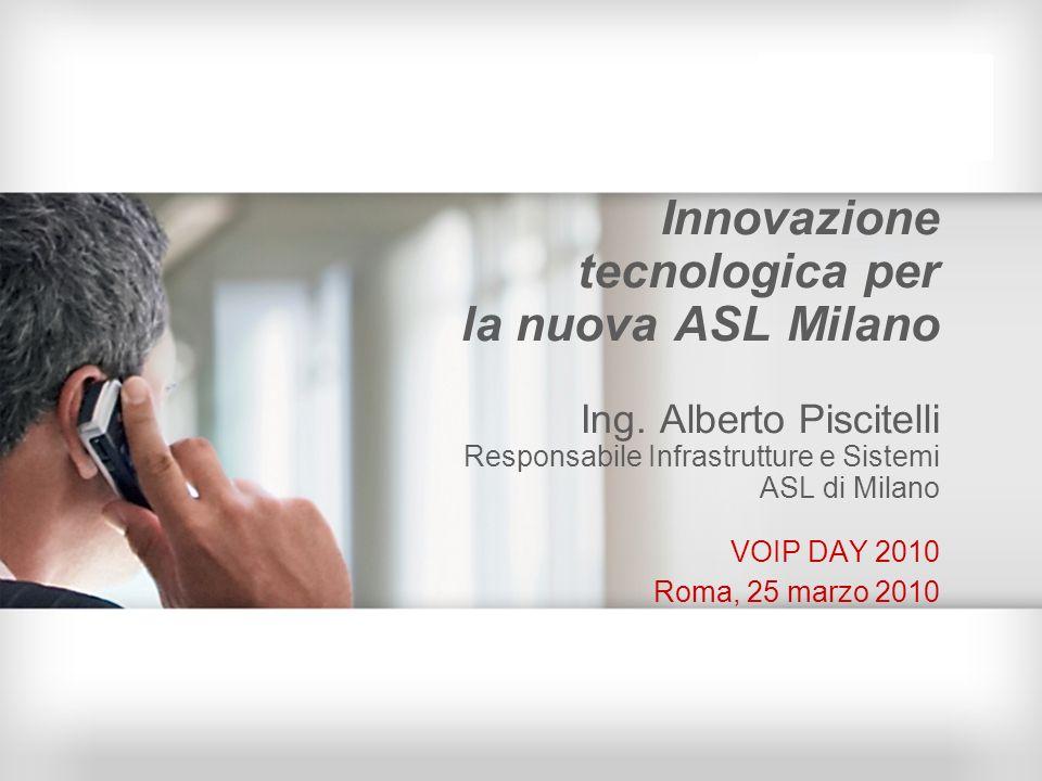 Innovazione tecnologica per la nuova ASL Milano Ing
