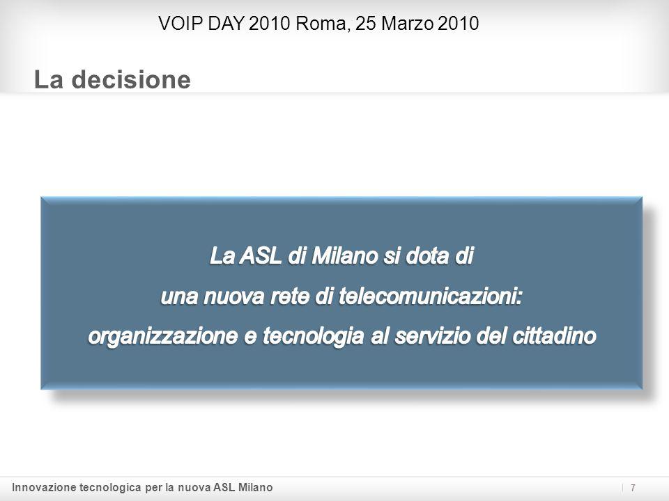 La decisione La ASL di Milano si dota di