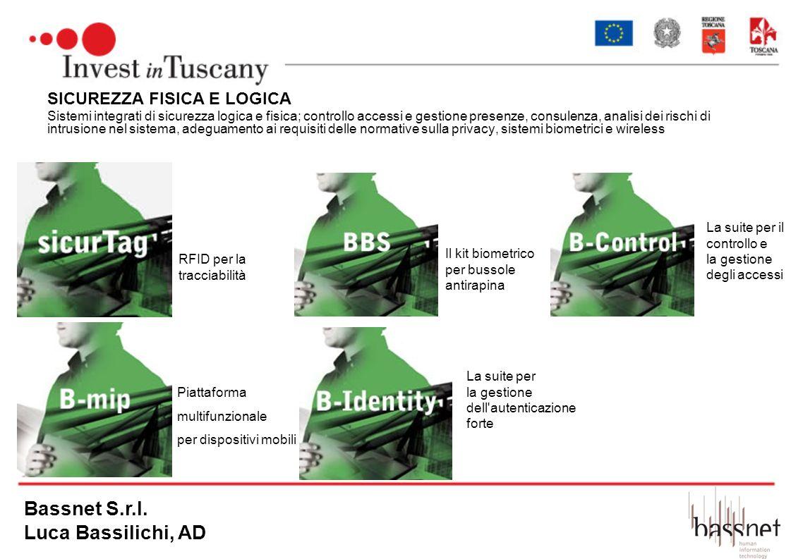 Bassnet S.r.l. Luca Bassilichi, AD SICUREZZA FISICA E LOGICA