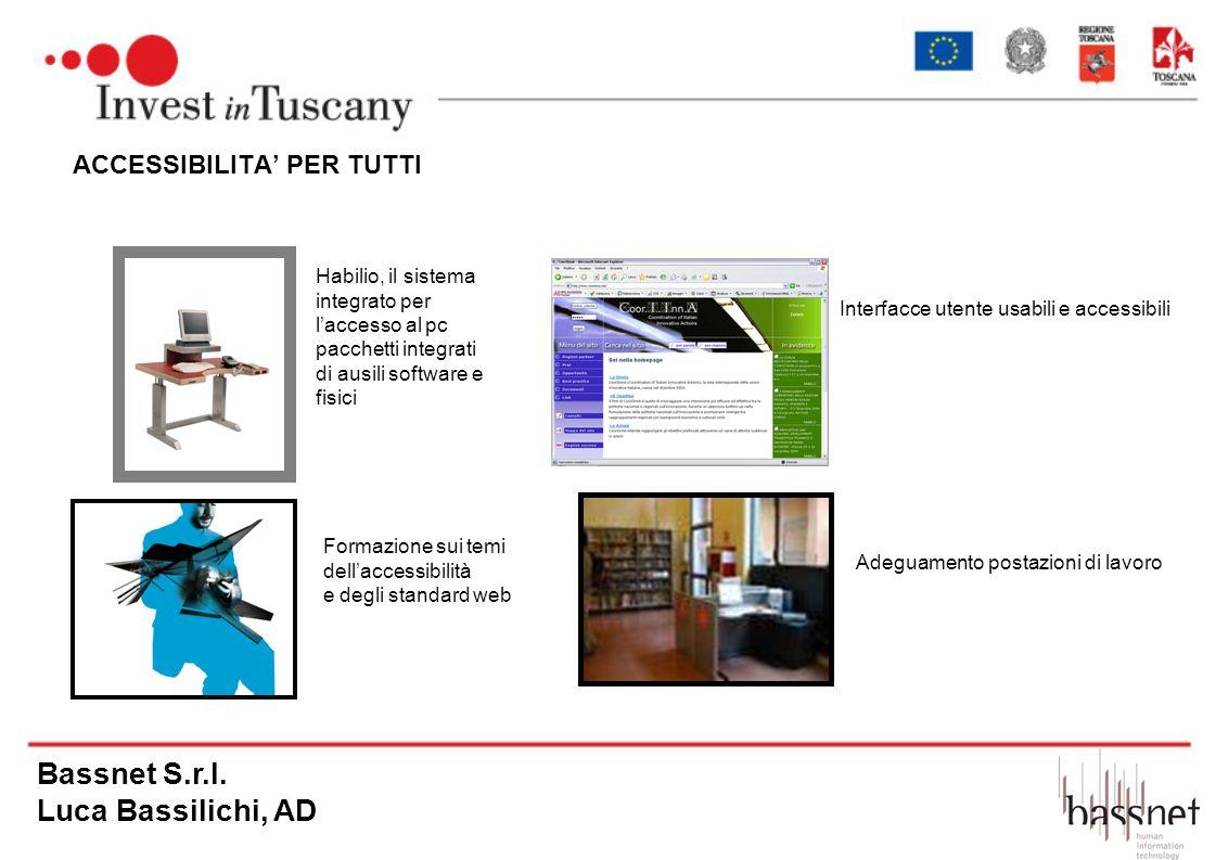 Bassnet S.r.l. Luca Bassilichi, AD ACCESSIBILITA' PER TUTTI