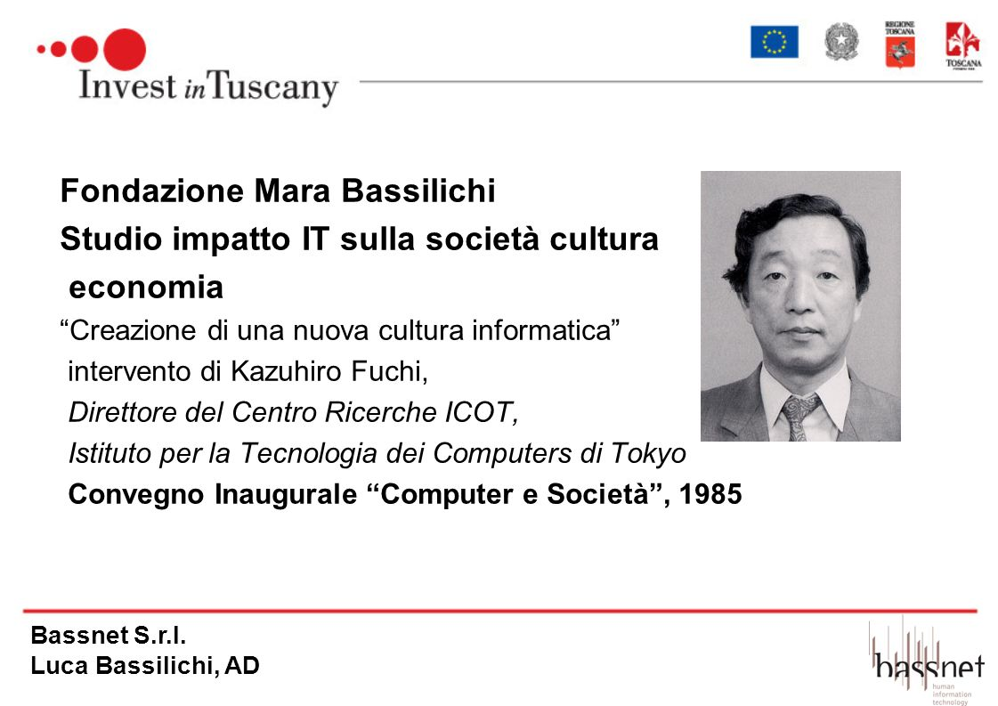 Fondazione Mara Bassilichi Studio impatto IT sulla società cultura