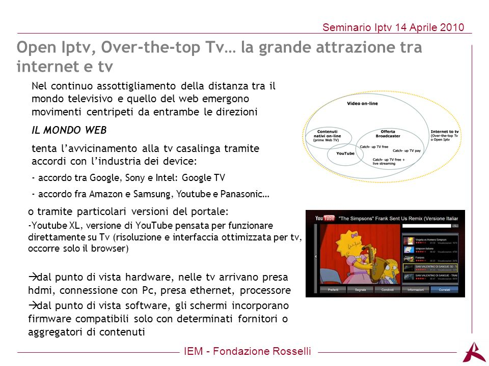 Open Iptv, Over-the-top Tv… la grande attrazione tra internet e tv