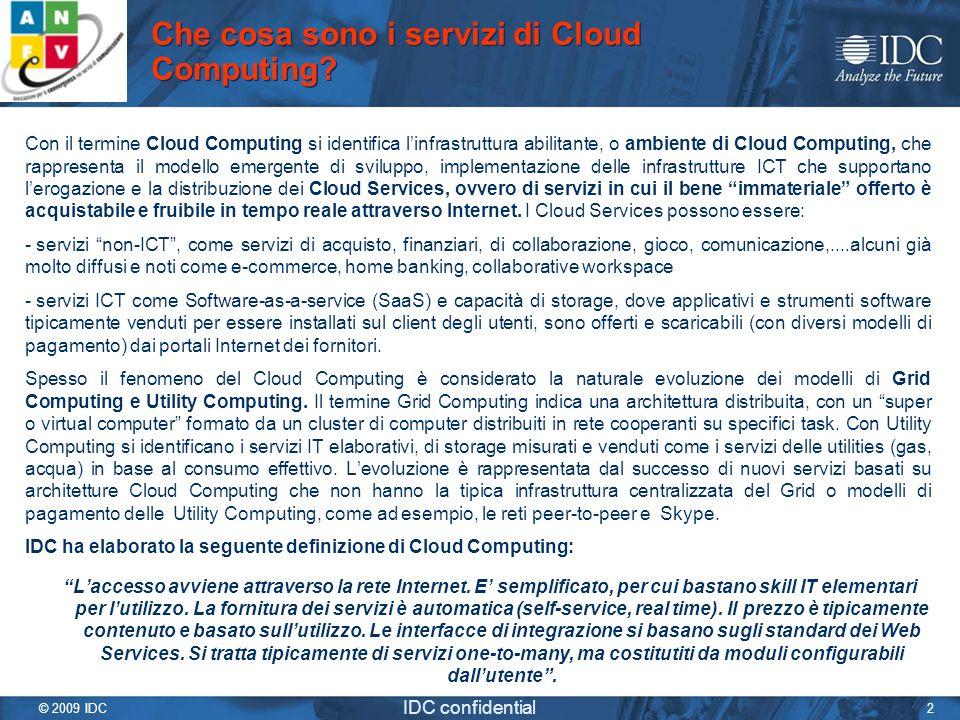 Che cosa sono i servizi di Cloud Computing