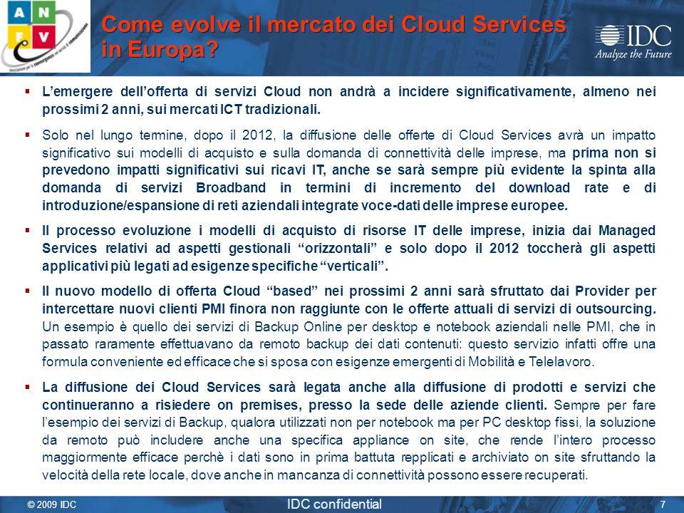 Come evolve il mercato dei Cloud Services in Europa