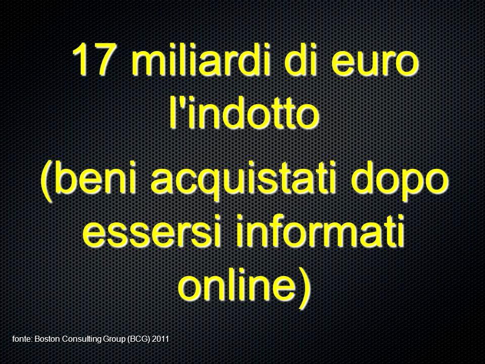 17 miliardi di euro l indotto