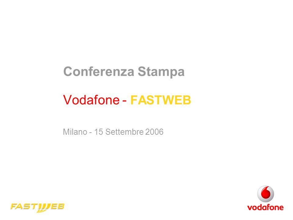 Conferenza Stampa Vodafone - FASTWEB