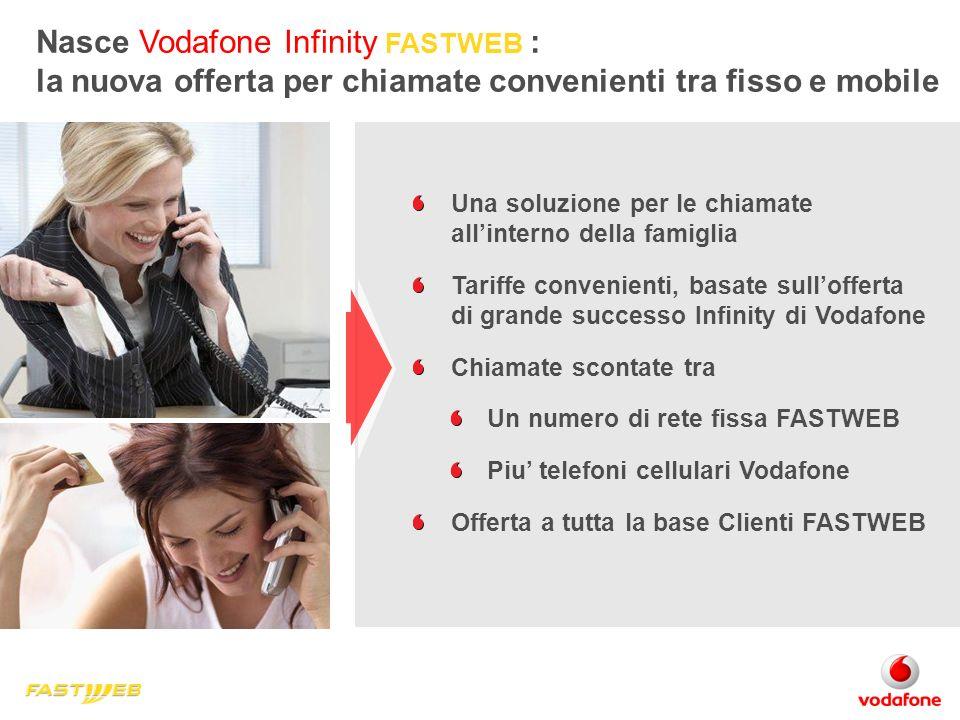 Nasce Vodafone Infinity FASTWEB :