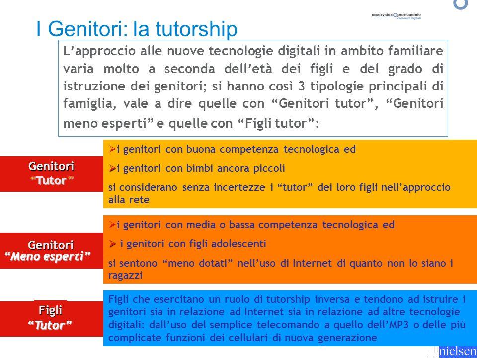 I Genitori: la tutorship