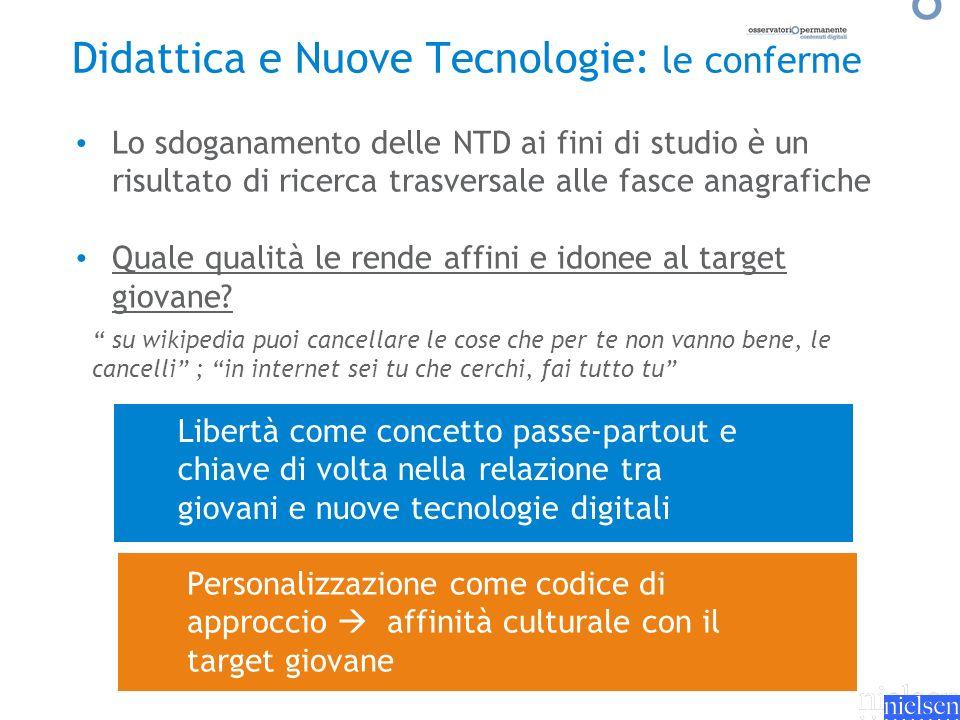 Didattica e Nuove Tecnologie: le conferme