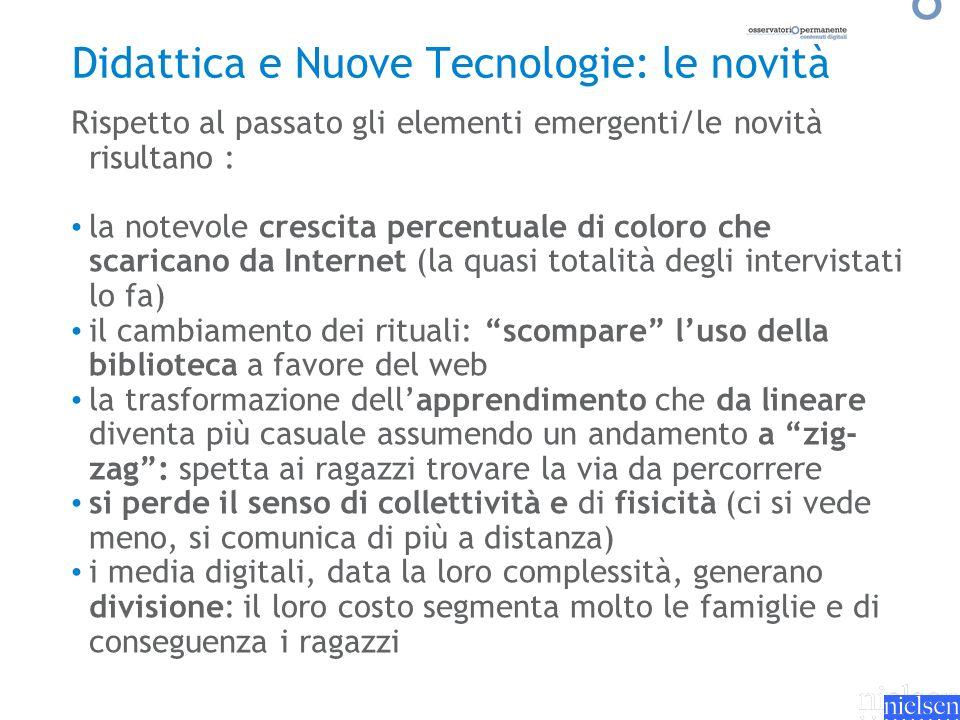 Didattica e Nuove Tecnologie: le novità
