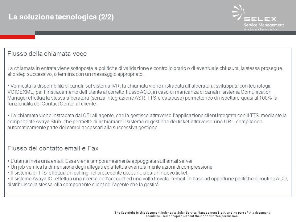 La soluzione tecnologica (2/2)