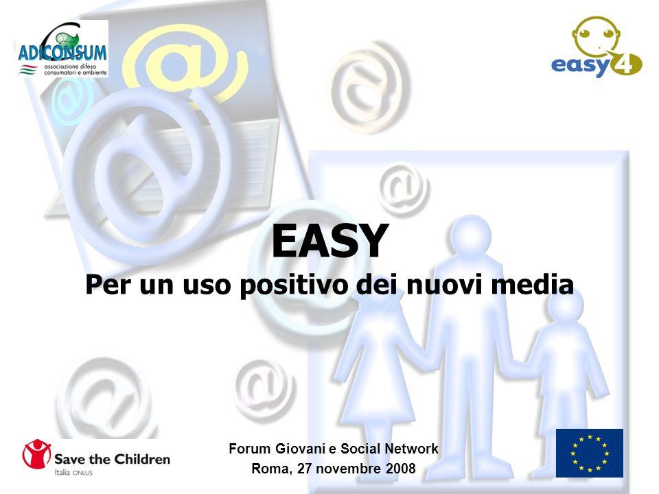 EASY Per un uso positivo dei nuovi media