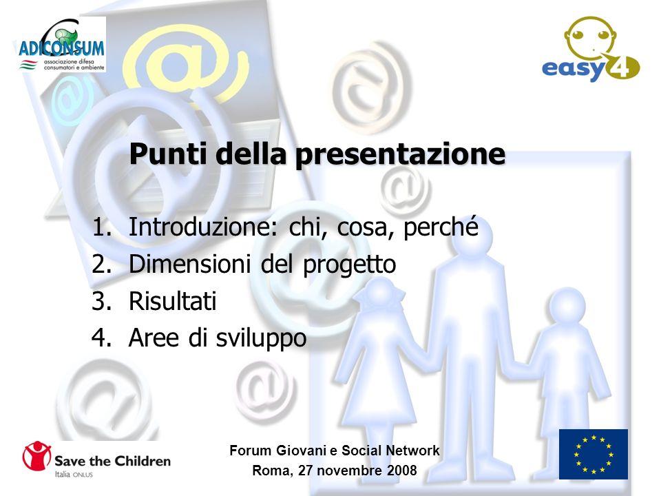 Punti della presentazione
