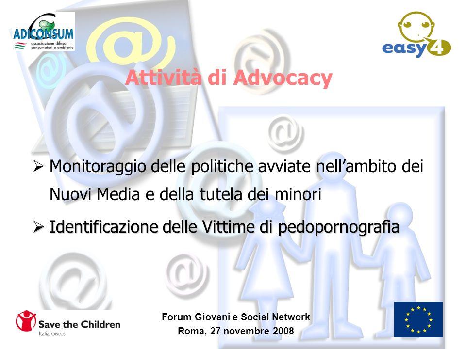 Forum Giovani e Social Network