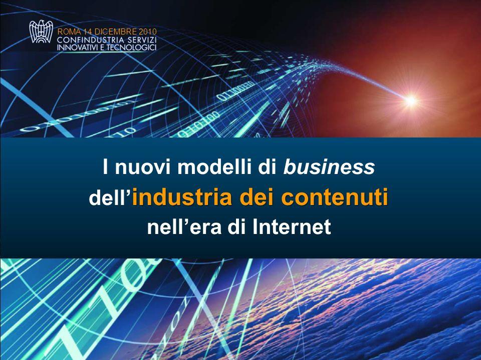I nuovi modelli di business dell'industria dei contenuti
