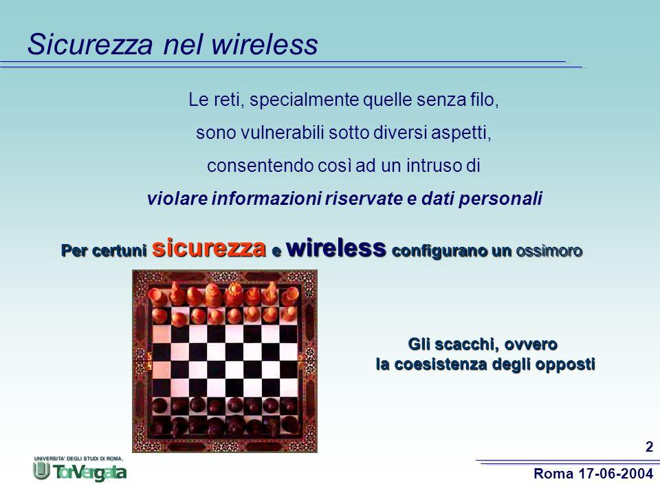 Sicurezza nel wireless