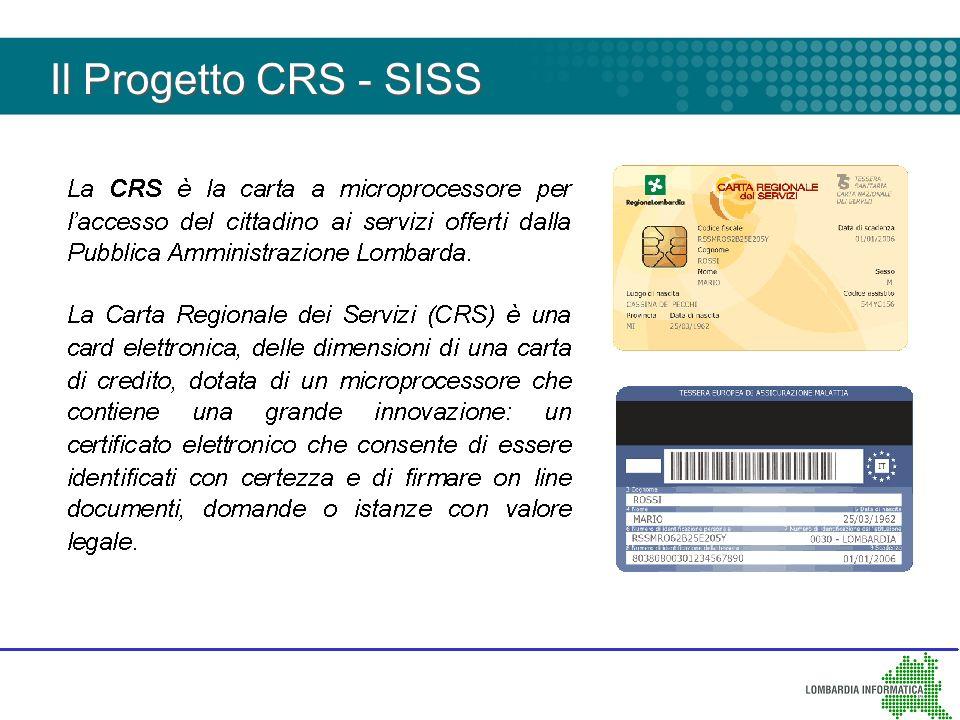 Il Progetto CRS - SISS 4