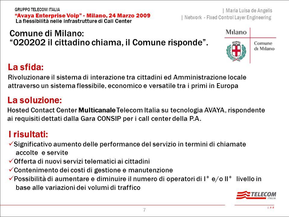 Comune di Milano: 020202 il cittadino chiama, il Comune risponde .