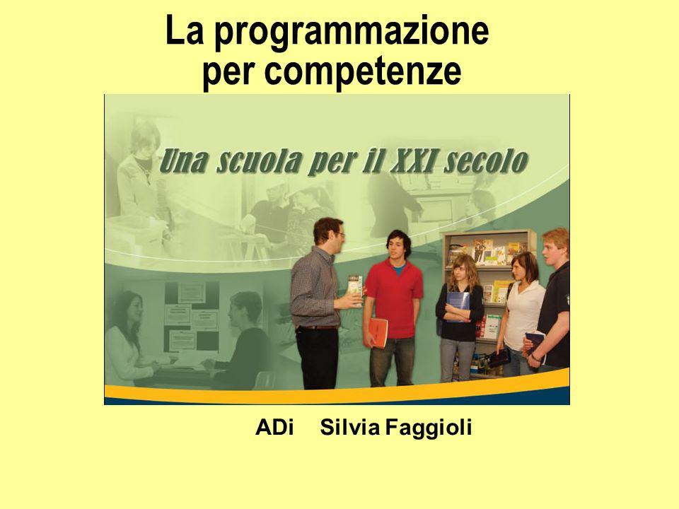 La programmazione per competenze