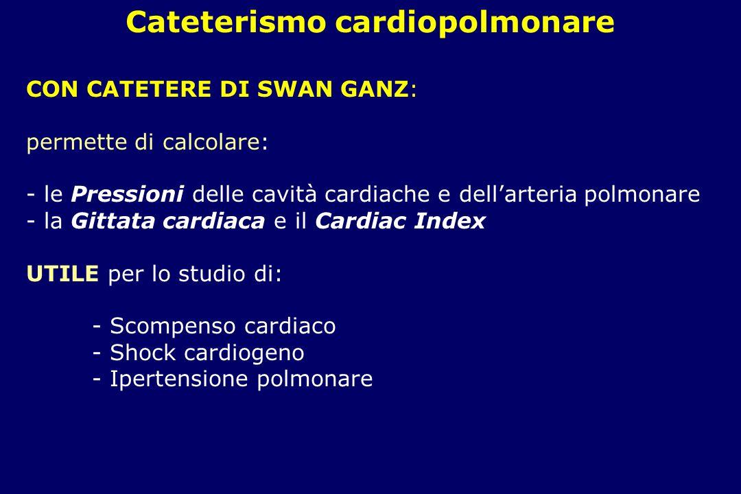 Cateterismo cardiopolmonare