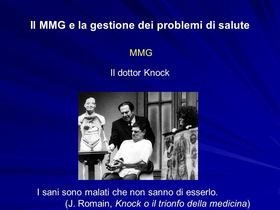 Il MMG e la gestione dei problemi di salute