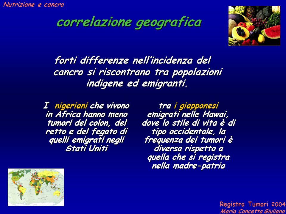 correlazione geografica